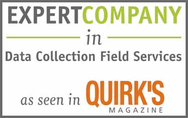 A 2016 Expert Company in Data Collection Field Services as seen in Quirk's Magazine